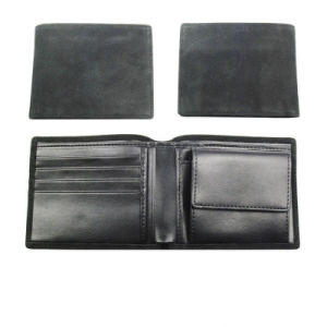 Wholesale Low Price Men′s Leather Wallet with High Quality