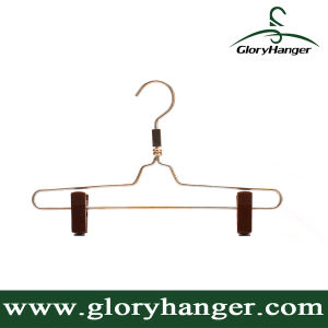 Hight Quality Aluminium Cloth Hanger with Clips for Store Ficture (GLMH01) pictures & photos