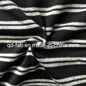 Poly/Rayon/Spandex Yarn Dyed Knitting Fabric (QF13-0697) pictures & photos