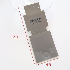 Transparent Plastic Bracelet Display Card (CMG-084) pictures & photos
