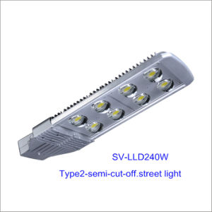 240W Bridgelux Chip Inventronics Driver LED Street Lamp (Semi-cutoff)