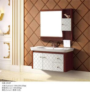 Solid Wooden Furniture Bathroom Cabinet (13127) pictures & photos