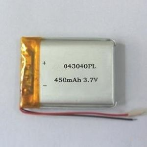 403040 Battery Cell 3.7V 450mAh Li-Polymer Battery