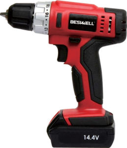"10.8V Li-ion 3/8"" Pisol Reversible Single Speed Cordless Drill pictures & photos"
