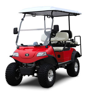 Solar Panel Golf Cart 2+2 Seater White pictures & photos