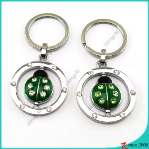 Enamel Animal Ladybug Charms Metal Key Ring Wholesale (KR16041913) pictures & photos