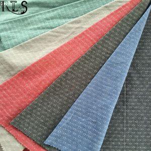 100% Cotton Jacquard Yarn Dyed Fabric Rls32-7ja