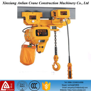 10 Ton Electric Chain Hoist with Electric Monorail Trolley Type pictures & photos