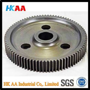 High Precision Machining Stainless Steel Alloy CNC Bull Gears pictures & photos