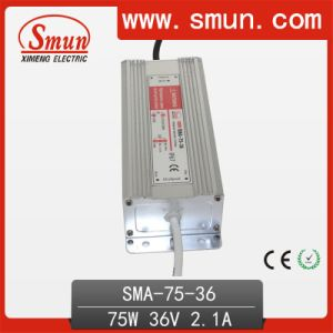 75W 2A 24-36VDC Constant Current LED Driver Power Supply IP67 pictures & photos