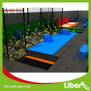 China Large Indoor Trampoline Park with Large Foam Pit for Sale pictures & photos