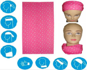Custom Polyester Scarf Wholesale Solid Bandana pictures & photos