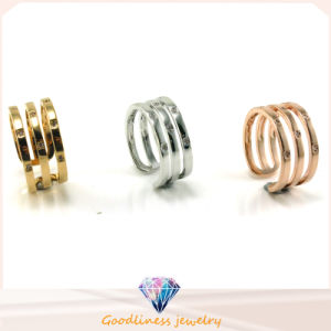 Factory Price Rhodium Plated 925 Silver Ring Wholesale R10038 pictures & photos