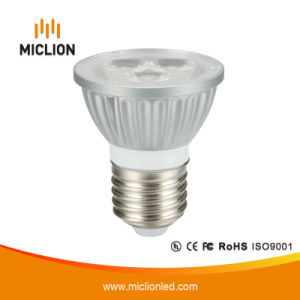 4.5W E27 Silver LED Spotlight with CE pictures & photos