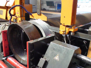 Pipe Prefabrication Band Saw Fast Cutting Machine pictures & photos