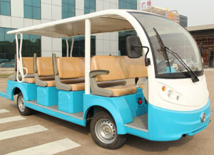 New Energy 14 Seats Electric Shuttle Bus with Attractive Price pictures & photos