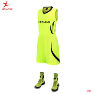 Make Your Own Sublimation Basketball Shirts Jerseys Sets Custom Design Basketball Jersey pictures & photos