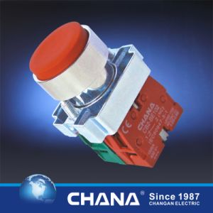 Electrical 22mm Pushbutton Switch with Cover IP65 Waterproof pictures & photos
