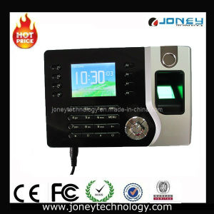 TCP/IP Fingerprint and ID Card Time Clock with 2.4 Inch Color TFT Screen. pictures & photos