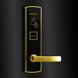 Mirror Panel Digital Door Lock Smart Door Lock pictures & photos
