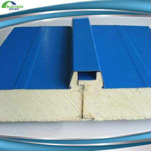 EPS/PU Foam Sandwich Panel for Roofing Building Material