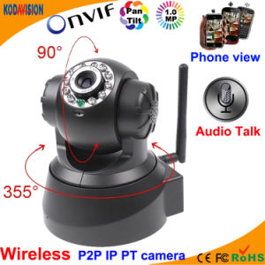 1.0 Megapixel Nework IP Pan Tilt PTZ Camera Wireless pictures & photos