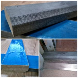 Flooring Door Profile Dark Grey MDF at 5cm Height *2cm Thickness pictures & photos