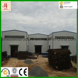 Customized Low Cost Prefab Steel Structure Metal Garages Workshops pictures & photos