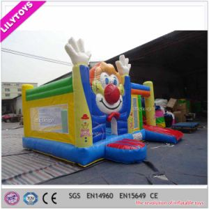 Popular Promotional Slide Type Air Bouncer Jumping Combo for Kids pictures & photos