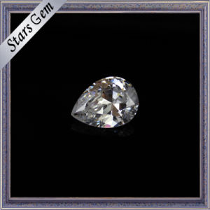 2X3mm Small Size Pear Cut Synthetic Cubic Zirconia Gemstone pictures & photos