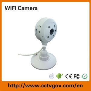 Mini Night Vision CCTV IP Security Camera with Wireless WiFi Network pictures & photos