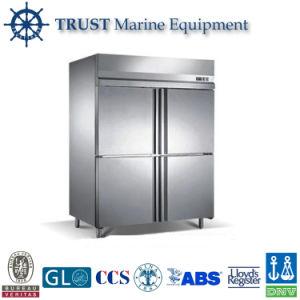 Stainless Steel Kitchen Equipment 4 Door Commercial Refrigerator Freezer pictures & photos