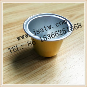 37mm Aluminum Coffee Capsule Compatible for Nespresso pictures & photos