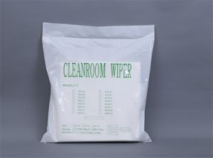 Plain Weeve Cleanroom Wiper, Polyester Wiper pictures & photos