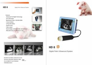 Portable Veterinary Digital B-Mode Ultrasound Scanner pictures & photos