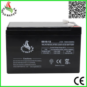 12V 10ah UPS VRLA Rechargeable Lead Acid Battery pictures & photos