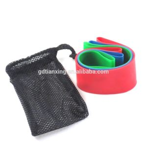 Gym Latex Resistance Exercise Bands pictures & photos