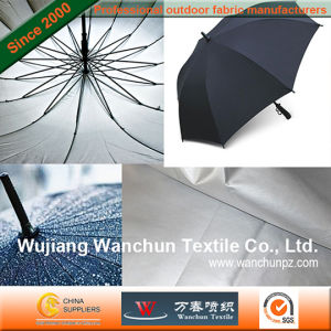 Silver Coated High Waterproof Fabric for Umbrellas pictures & photos