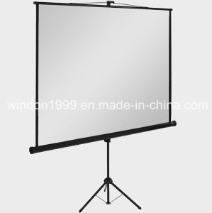 "Tripod Projector Screens 70""X70"" with Competitive Price pictures & photos"