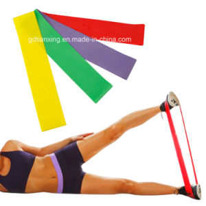 Sport Leg Training Loop Ankle Resistance Bands pictures & photos