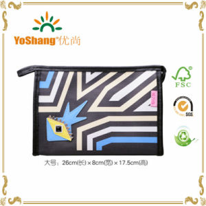 PU Leather Ladies Fashion Peronalized Cosmetic Bags pictures & photos
