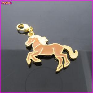 Gold Horse Elegant Mini Charm Wholesale (17218) pictures & photos