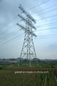 Customized Angle Steel Power Transmission Tower