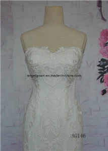 Long Train Bridal Dress Sweetheart Factory Direct Sale Gown Wedding pictures & photos