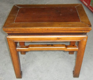 Chinese Traditional Square Wooden Stool Lws035 pictures & photos