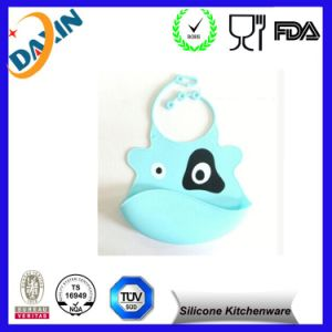 Wholesale in China High Quanlity Silicone Baby Bib pictures & photos