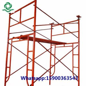 Q195/Q235 Steel H Frame Scaffold pictures & photos