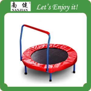 TUV GS Kids Indoor Trampoline Bed with Safety Net for Kids pictures & photos