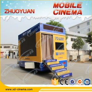 Canton Fair Hot Sale New Investment Truck Mobile 7D Cinema for Sale pictures & photos