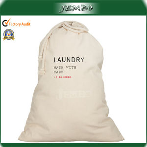 Wholesale Quality Printed Medium Size Canvas Laundry Bags pictures & photos
